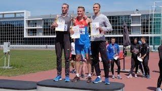 Югорские спортсмены призёры первенства по лёгкой атлетике