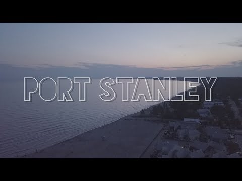 Port Stanley Drone Montage
