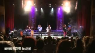 "Myron Butler & Levi - Medley ""Stronger - Jesus Saves"" live @ Novara Gospel Festival 2013"