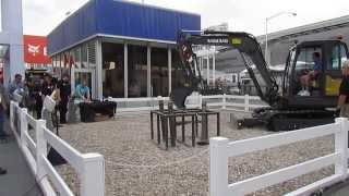 Video still for Volvo Skills Demo at ConExpo 2014
