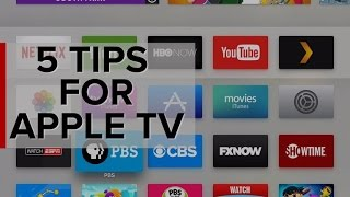 Five tips to help master the new Apple TV