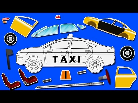 Taxi | formation and uses | puzzle games for kids | learn co