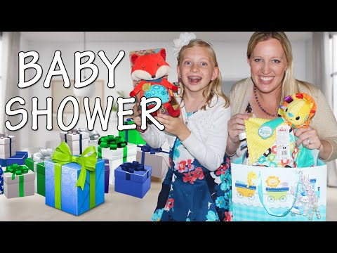 BABY SHOWER!!!!!  Present Opening, Food & Games!!
