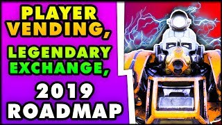 Fallout 76 - PLAYER VENDING, Legendary Item Exchange, New Game Modes (Fallout 76 2019 Road Map News)