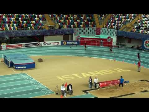İstanbul U18 Türkiye Salon Şampiyonası 200 metre kızlar17  seri
