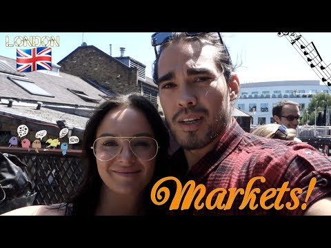 LONDON VLOG 6: Markets and Canals!