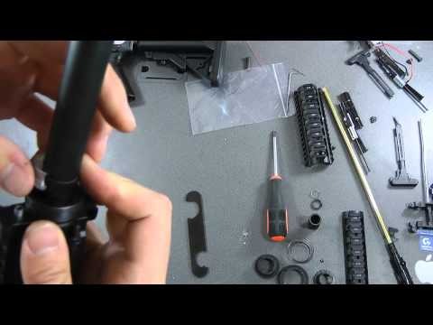 Tutorial - M4 Sopmod Next Generation Recoil Shock Series Disassembly Video