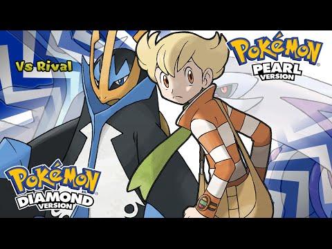 Pokemon Diamond/Pearl/Platinum - Battle! Rival Music (HQ)