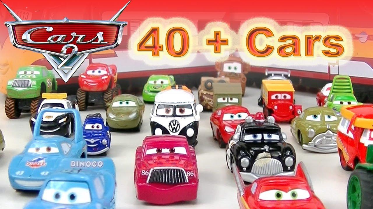 Disney Cars Toys Youtube: Disney Cars Toys Mini Adventures Car Toys Lightning