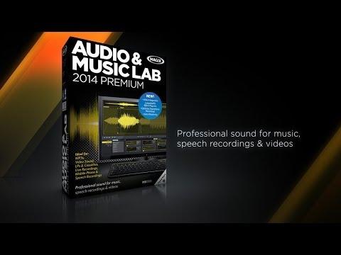 MAGIX Audio & Music Lab 2014 Premium (INT) - Music Software