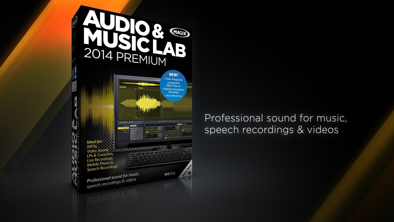 MAGIX Audio & Music Lab 2014 Premium (INT) - Music Software