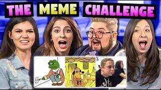 NAUGHTY MEME CHALLENGE! (ft. Simmi Singh)
