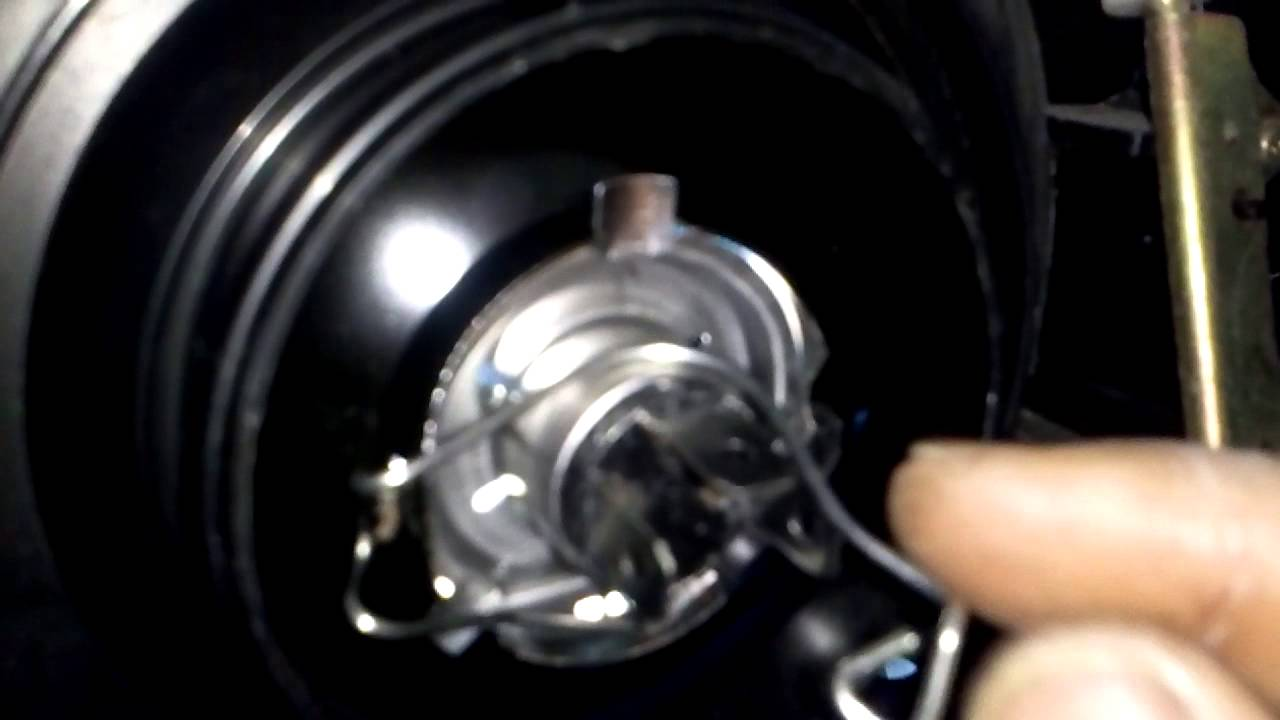 H4 Light Bulb Removal And Installation Youtube