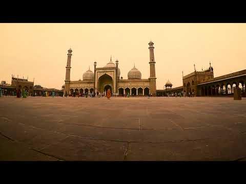 Jama Masjid || Old Delhi || Timelapse || Hero Gopro 5 || Incredible India || Delhi Tourism
