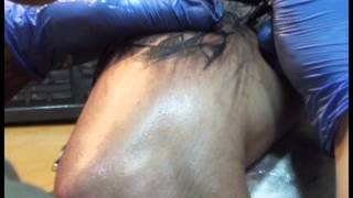 santa muerte tattoo lapse