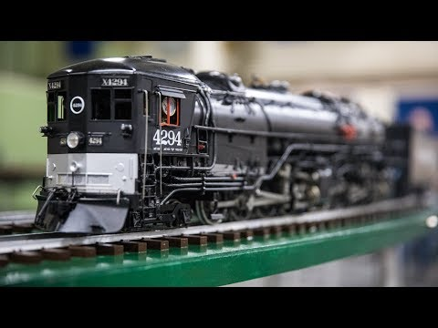 Model Railroad Train Scenery -Awesome Model Trains with Steam Locomotives!