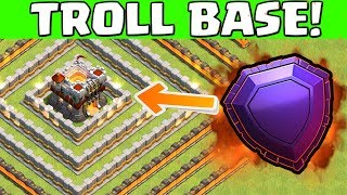 Clash of Clans ☆ Troll Base in Legend League!