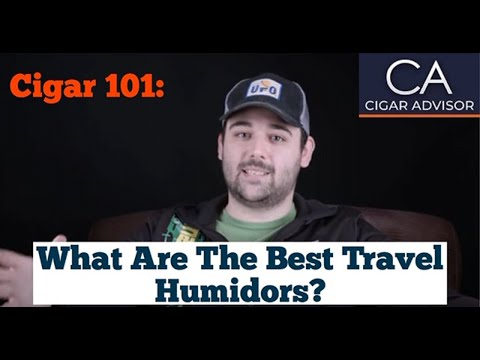 What are the Best Travel Humidors? - Cigar 101