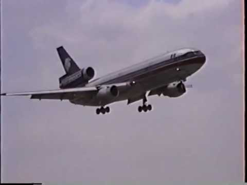 AeroMexico McDonnell Douglas DC-10-15 Landing In Miami