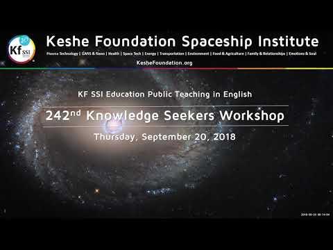 242nd Knowledge Seekers Workshop  September 20, 2018