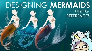 DRAWING MERMAIDS DIGITALLY | USING REFERENCES