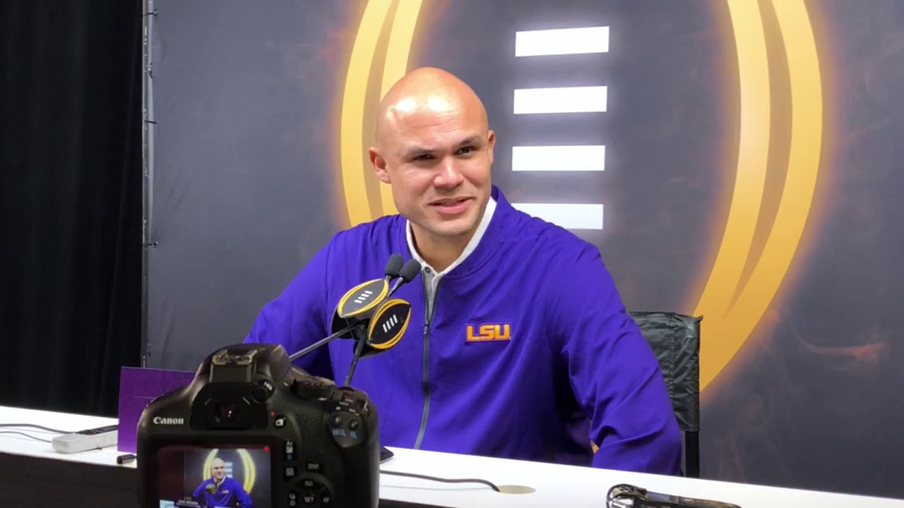 LSU defensive coordinator Dave Aranda officially named new ...