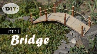 DIY Mini Bridge | How To Make Mini Popsicle Sticks Bridge