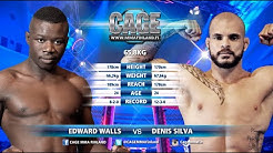CAGE46 Edward Walls vs Denis Silva Full Fight MMA