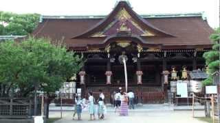 (HD)京都・北野天満宮-Kitano Tenman-gu Shrine,Kyoto