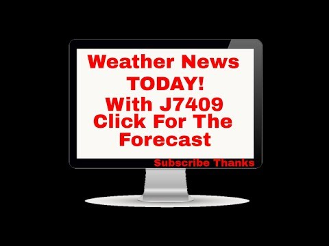 Weather News Today with J7409 Snow Wind Rain and Lots of it  4- 13- 20