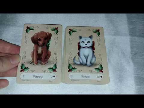 Yuletide Lenormand flipthrough