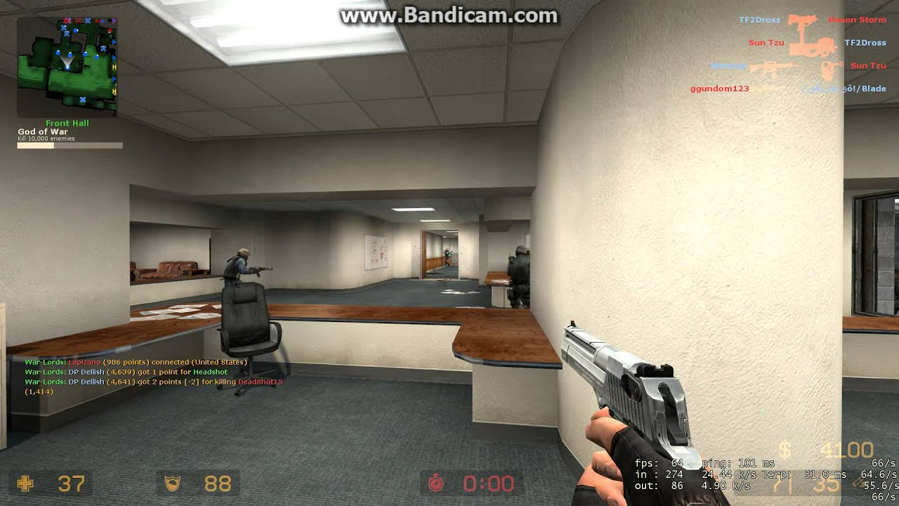 Counter Strike: Source | Scouting on cs_office