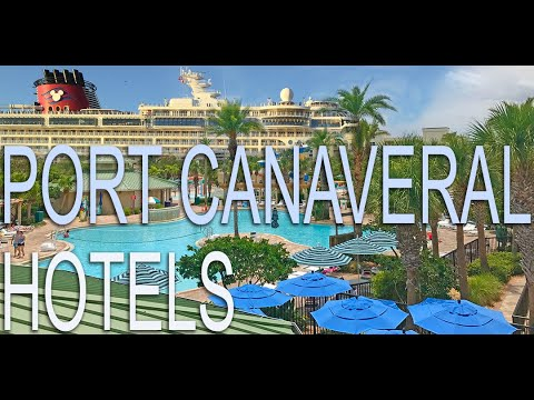Port Canaveral Hotels, Parking and Car rental - A Tour of Cape Canaveral and Cocoa Beach