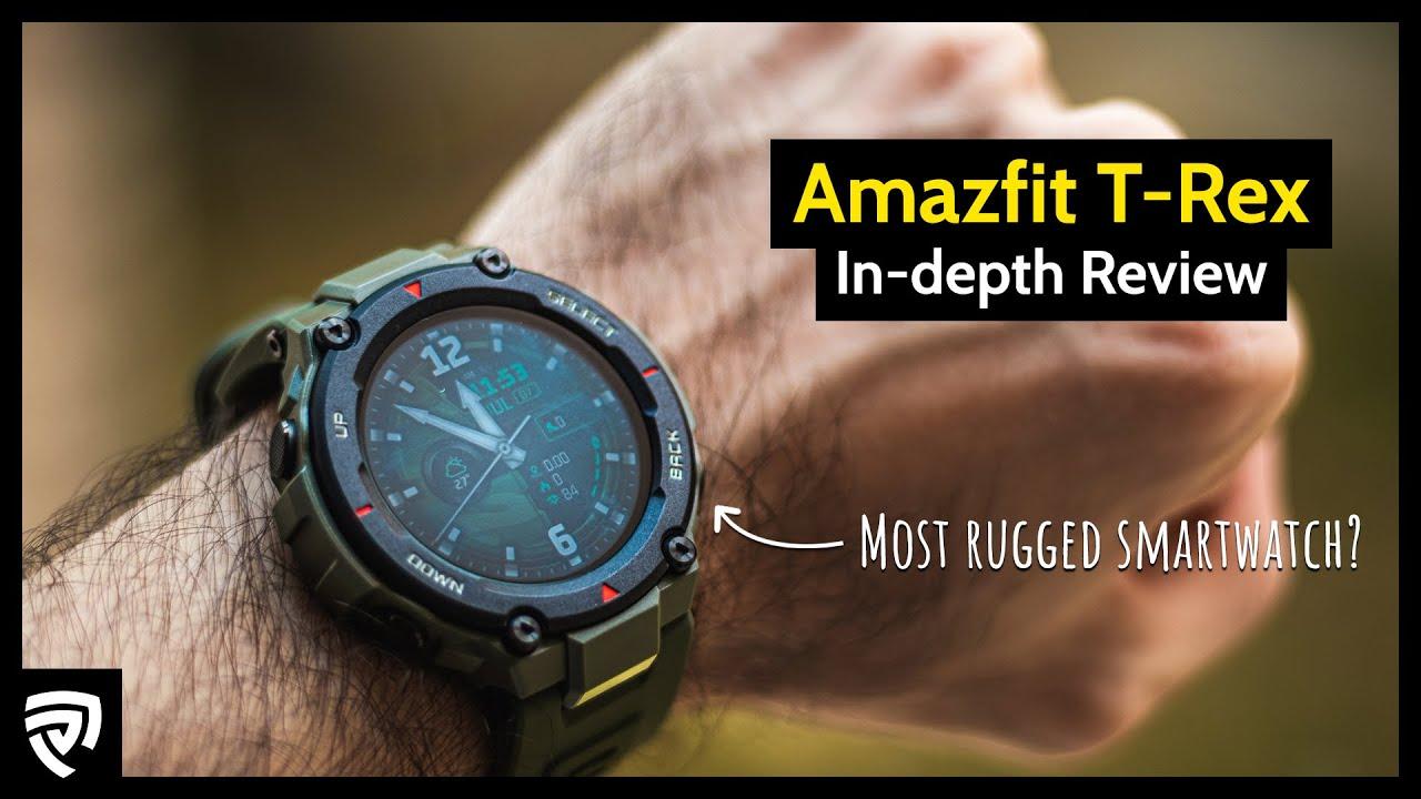 Amazfit T-Rex Outdoor Smartwatch - Unboxing, schnelle Einrichtung // DEUTSCH