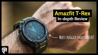 Amazfit T-Rex IN-DEPTH Review - Everything You Need To Know! (2020)
