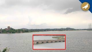 Hyderabad Rain: Water level increases in Jalpally lake