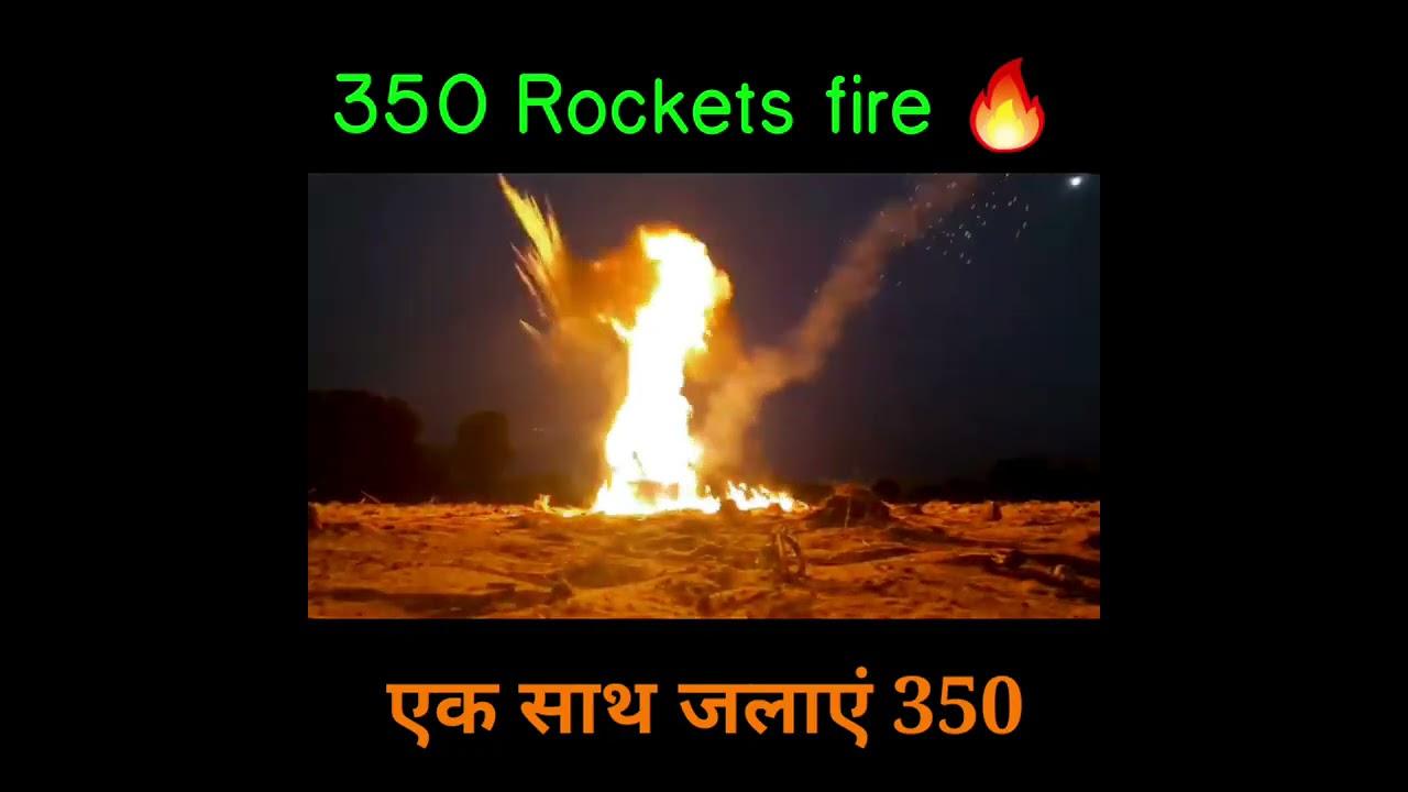 Download 350 Diwali Rockets Ek Saath  आसमान में धमाल मच गया WOW Amazing experiment   #shorts