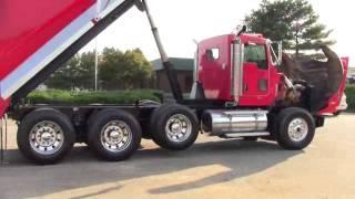 2006 Kenworth T800 Tri axle Dump Truck #09563