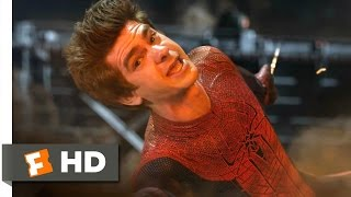 The Amazing Spider-Man - Saved by Spider-Man Scene (510)  Movieclips