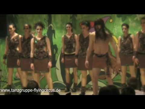 """Into the Jungle - Showtanzgruppe """"The Flying Circus""""- 2009"""