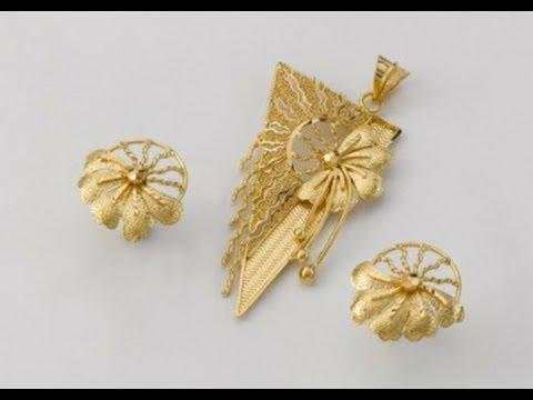 Gold pendant with earrings designs gold pendant set youtube gold pendant with earrings designs gold pendant set aloadofball Gallery