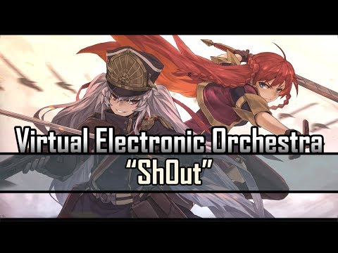 Re:CREATORS OP 2 - Sh0ut 【Virtual Electronic Orchestra】 【Hereson】