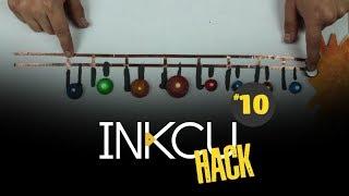 Maqueta de sistema solar con luces y tinta conductiva InkCu