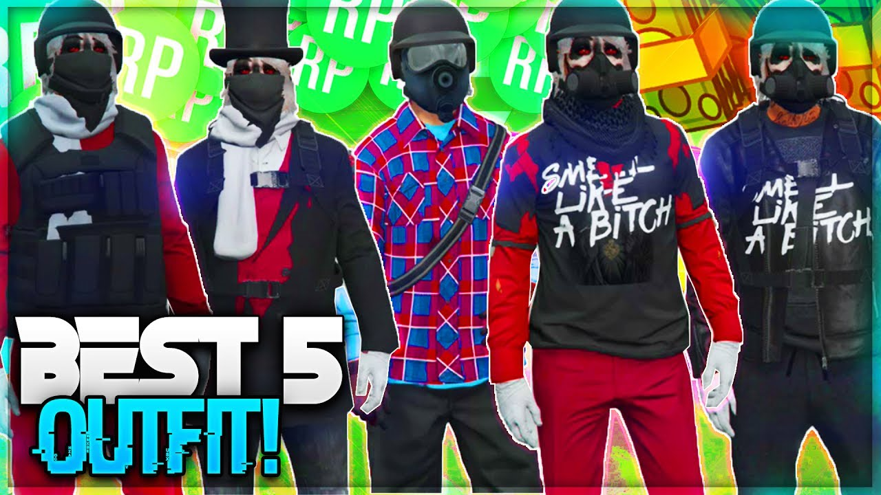 BEST RnG/Tryhard Outfit! (GTA 5 ONLINE) CLOTHING GLITCHES! ( GTA 5 Outfits ) - YouTube