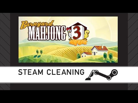 Steam Cleaning - Barnyard Mahjong 3 |