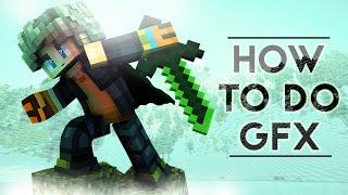 How to make Minecraft GFX | Photoshop Tutorial