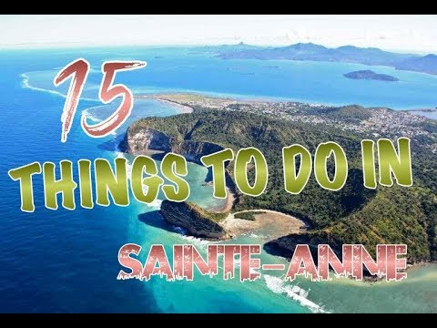 Top 15 Things To Do In Sainte-Anne, Guadeloupe