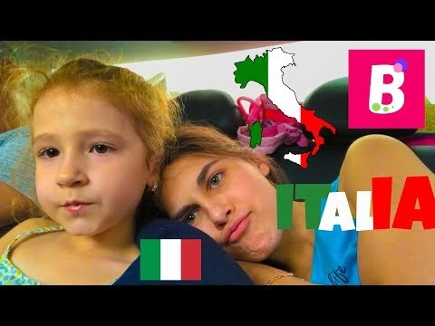In sfarsit am ajuns la Italia | We finally got to Italy | Bianca Kids Show