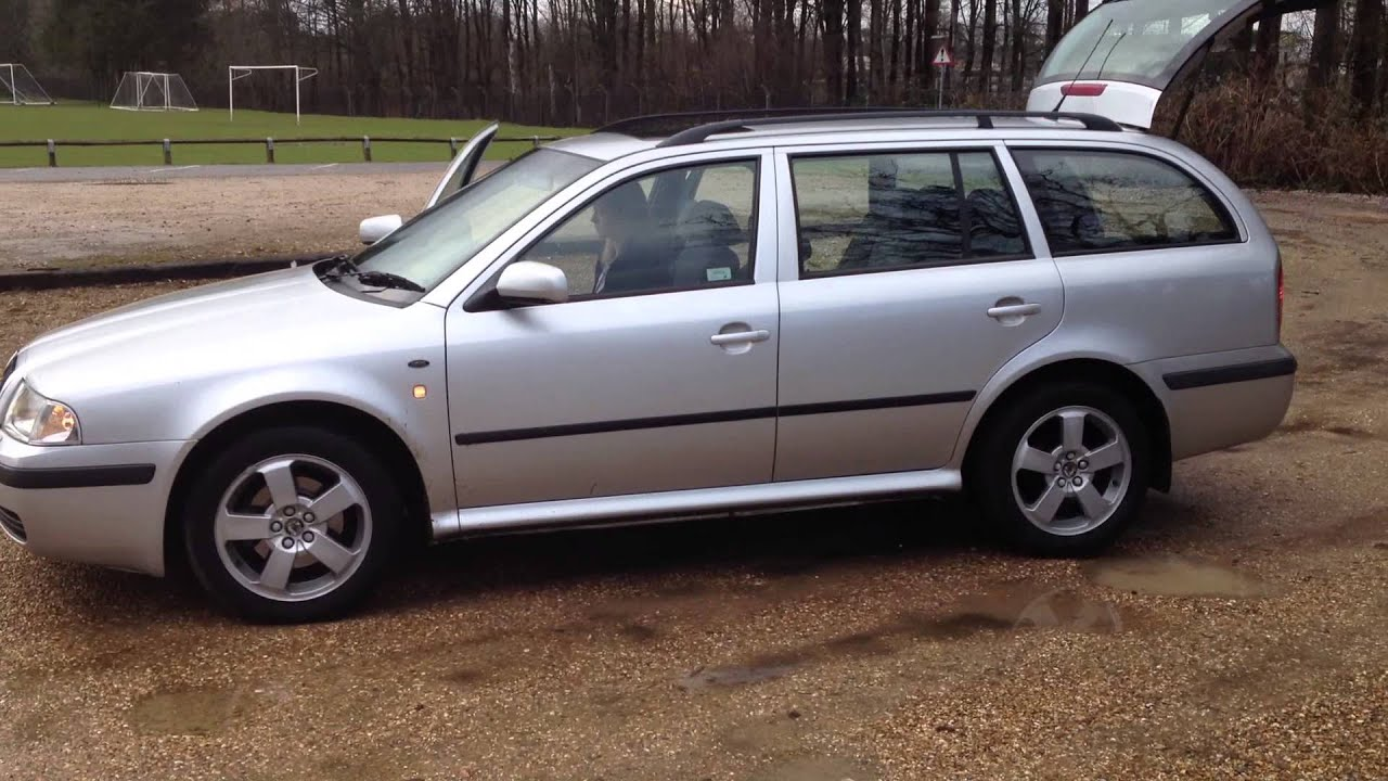 skoda octavia elegance estate 1 9 tdi 2001 for sale on gumtree youtube. Black Bedroom Furniture Sets. Home Design Ideas