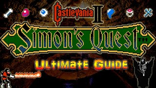 #Castlevania2 #SimonsQuest Castlevania II : Simon's Quest - NES - Ultimate Walkthrough -ALL Endings!